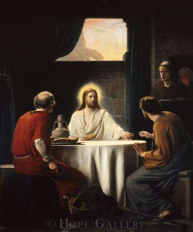 Cristo en Emaús