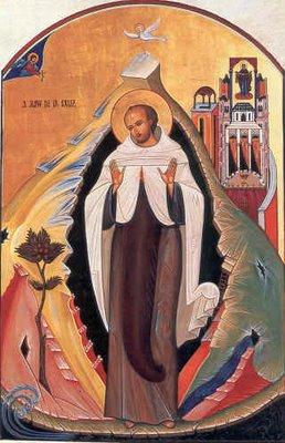 Icono de San juan de La Cruz