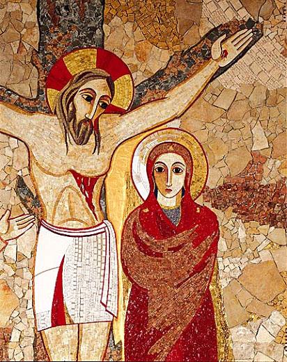Junto a la cruz