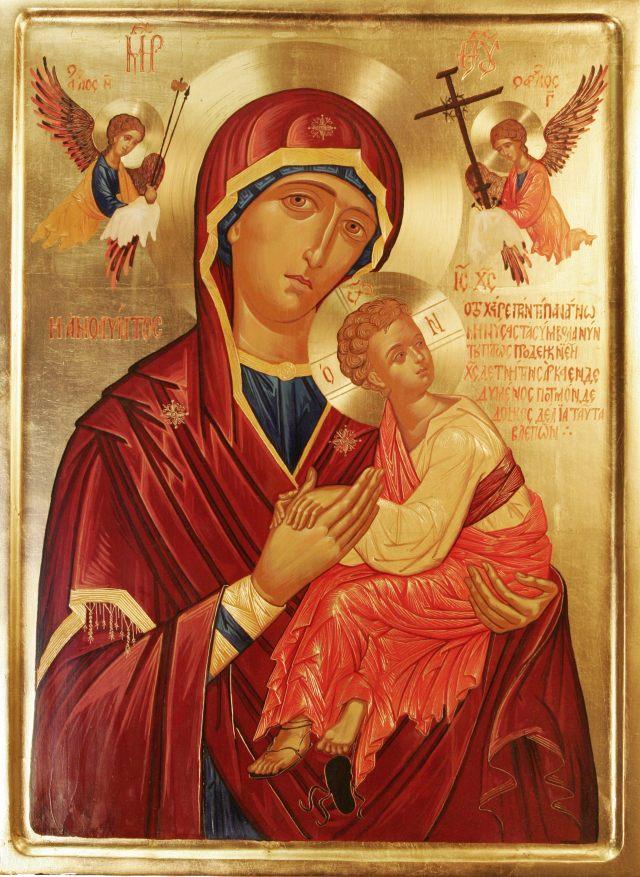 Icono Virgen de La Pasión