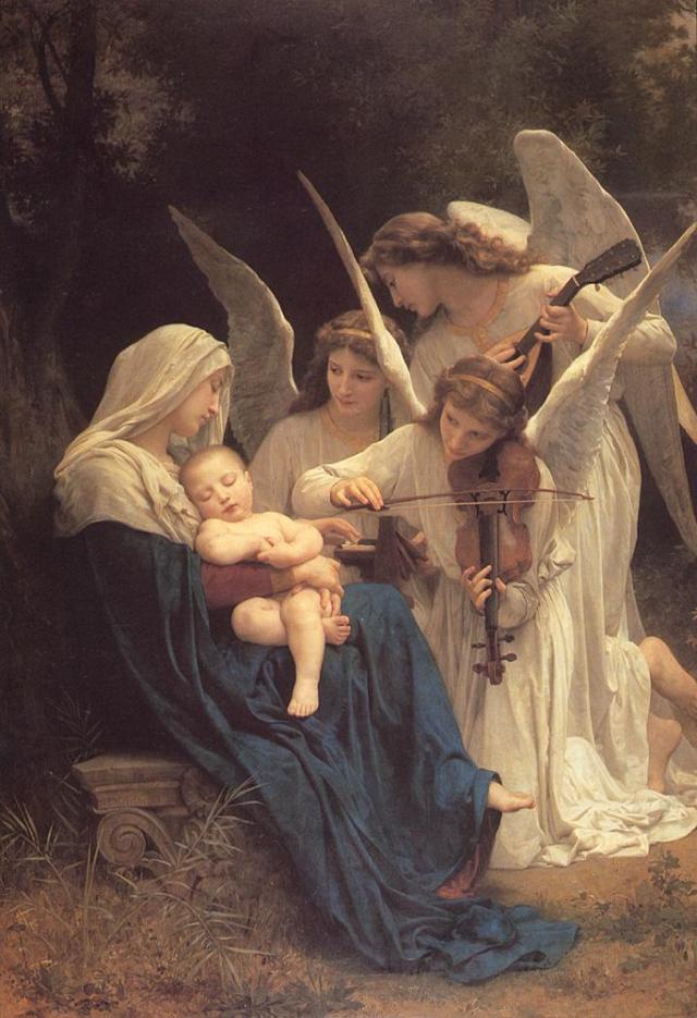 """""""...espíritus purísimos que están cerca de Dios"""""""