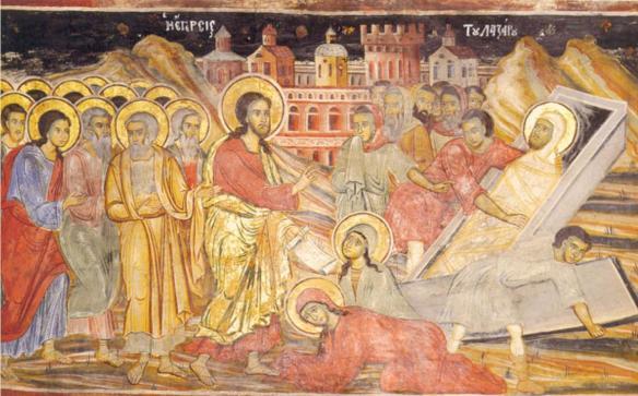 Resurrección de Lázaro de  Betania