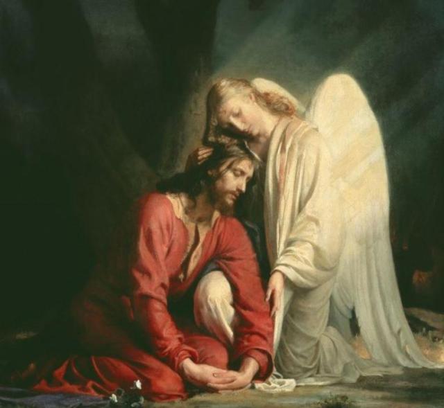 Cristo en Getsemaní